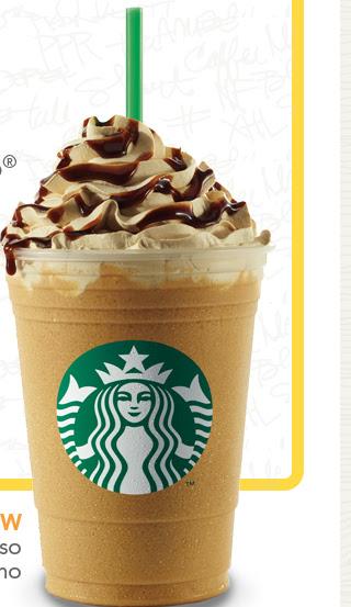NEW Caffè Espresso Frappuccino.