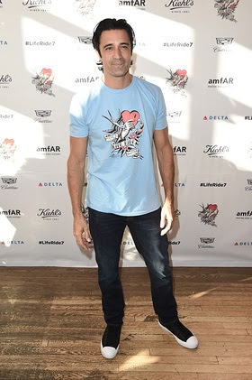 Gilles Marini attends NY Celebration of Kiehl's LifeRide for amfAR
