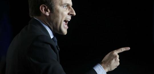Emmanuel Macron - Réservé mag