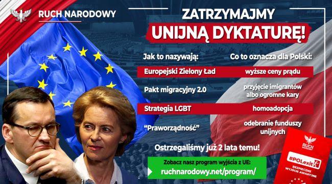 stop dyktaturze UE