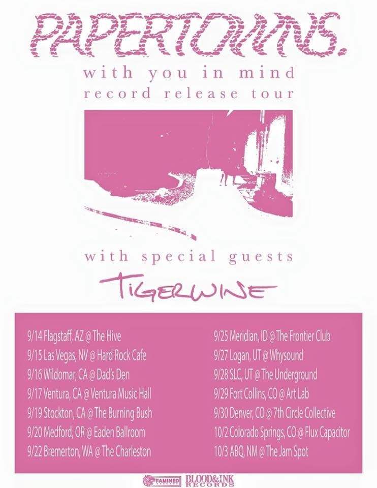 tigerwine tour with papertowns