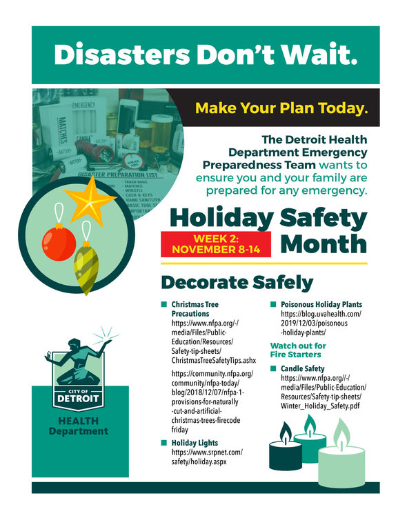 DHD Holiday Safety Flyer 2