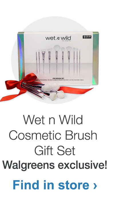 Wet n Wild Cosmetic Brush Gift Set - Walgreens exclusive!