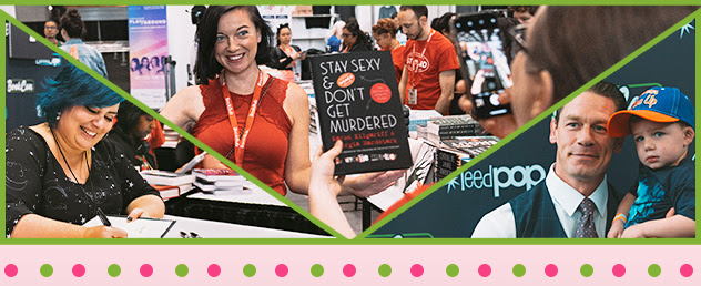 Three Images from BookCon 2019
