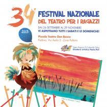 """34° Festival Nazionale Teatro per Ragazzi """"G. Calendoli"""