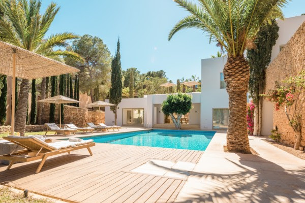 Ibiza luxury 5 bedroom Mediterranean villa
