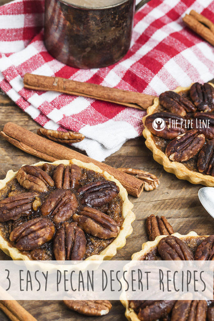 3 Easy Pecan Dessert Recipes..