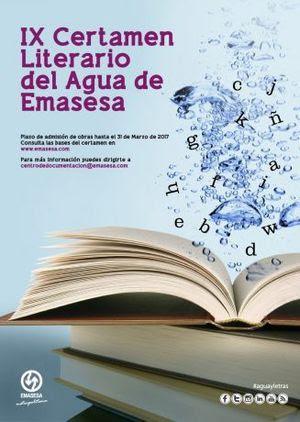 IX Certamen Literario del Agua de Emasesa