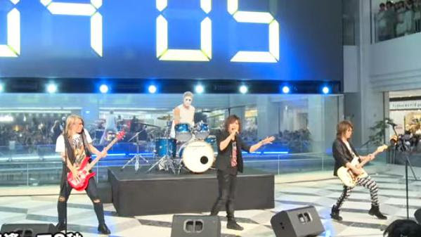 "VIDEO. Japon : un groupe de ""air band"" donne un concert de huit secondes"