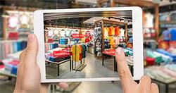 Một ứng dụng bán lẻ AR được phát triển bởi một thương hiệu lớn