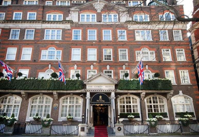 The Goring, Londres, Entrada del hotel