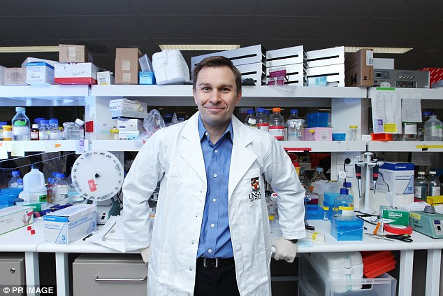 Harvard Professor David Sinclair (pictured) and researchers from the University of New South Wales have developed a process, which involves reprogramming cells