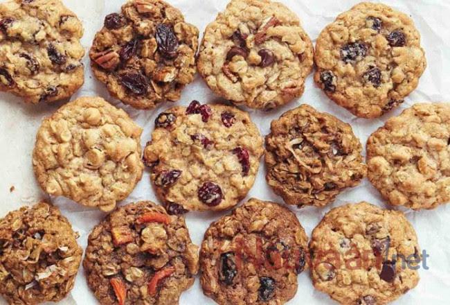 cookie chuối yến mạch