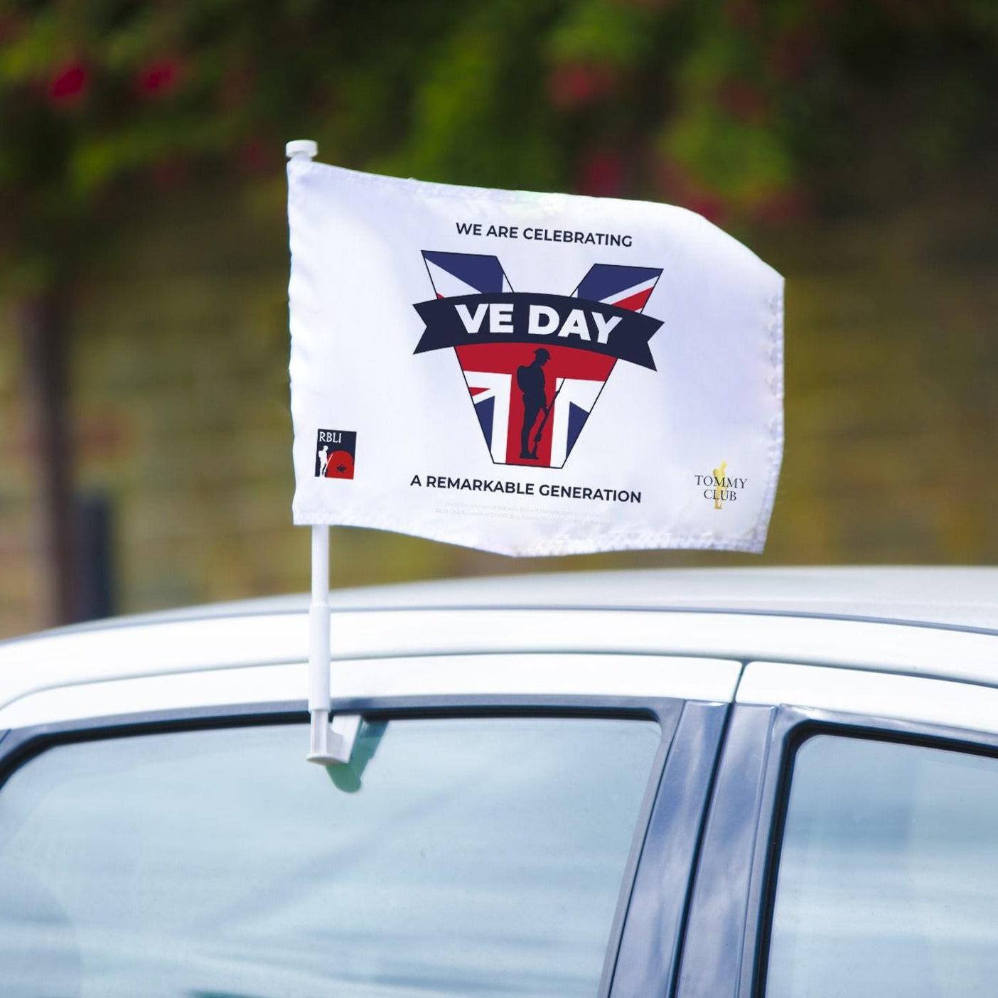 VE Day 2021 Car Flag
