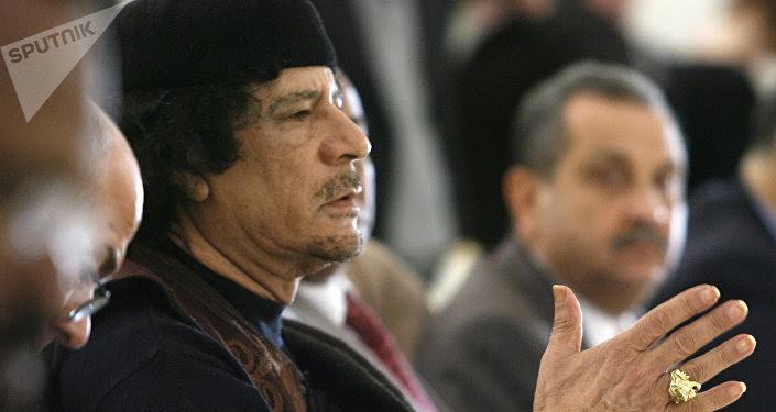 Exlíder de Libia, Muammar Gadafi