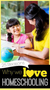 Why I love homeschooling my kids