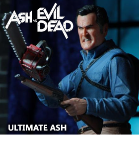 ASH VS EVIL DEAD ULTIMATE ASH FIGURE