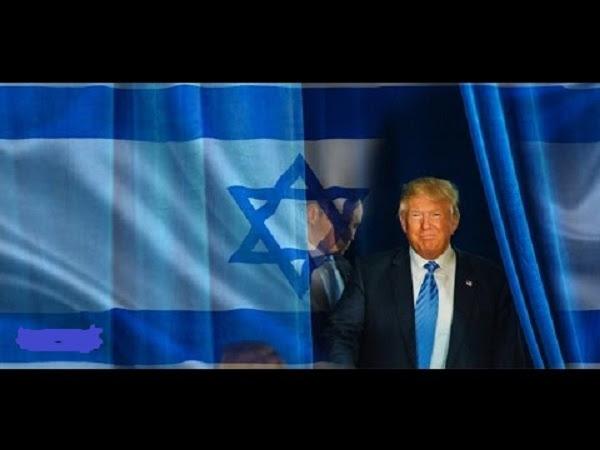 trump-israel-flag