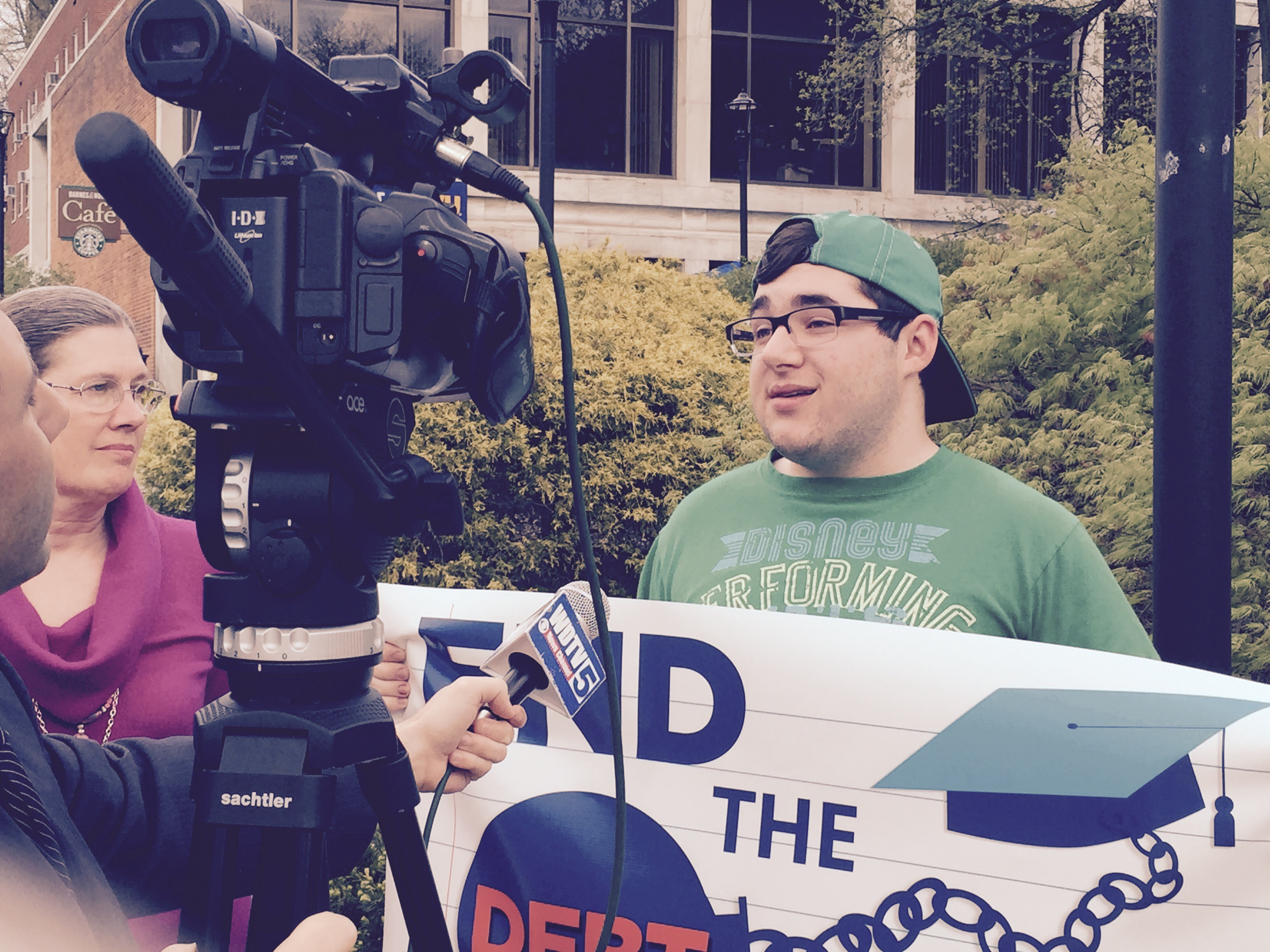 Students across the country took action to demand debt-free college