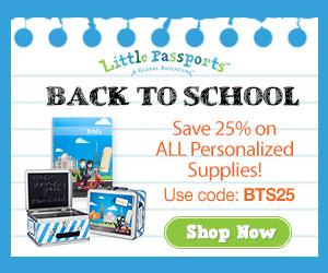 25% off all Little Passports B...