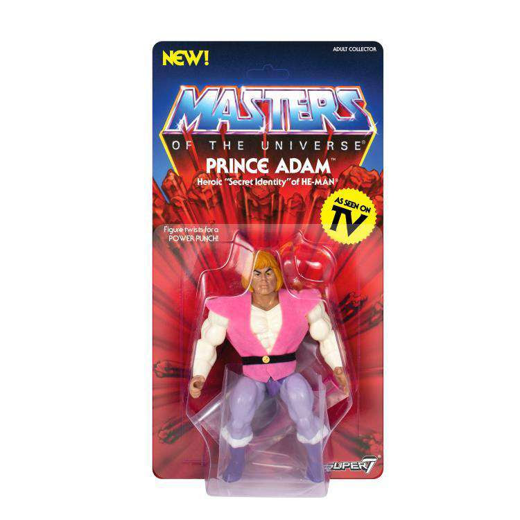 Image of Masters of the Universe Vintage Wave 3 - Prince Adam - SEPTEMBER 2019