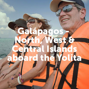 Galapagos - North, West & Central Islands