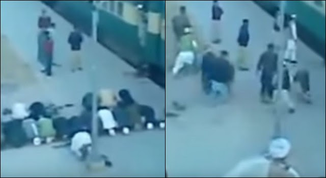 WATCH THIS! Muslims Show What Allah REALLY Means To Them When Train Takes Off During Prayer…