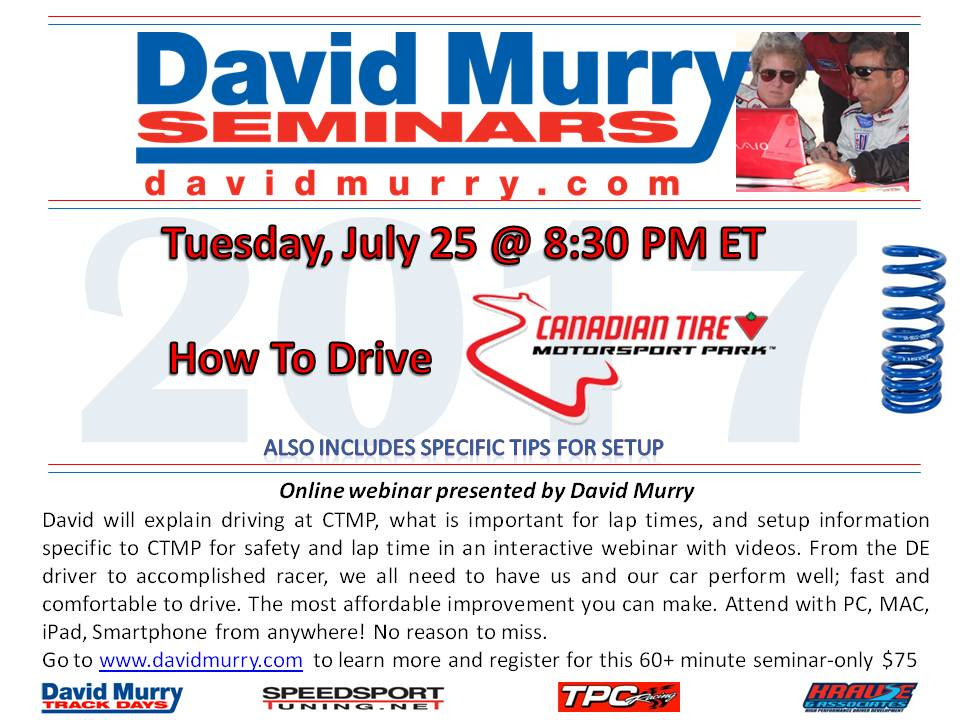 DMS Drive CTMP Mosport flyers
