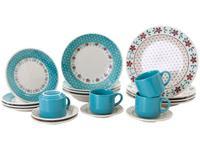 Aparelho de Jantar Chá 20 Peças Biona Cerâmica