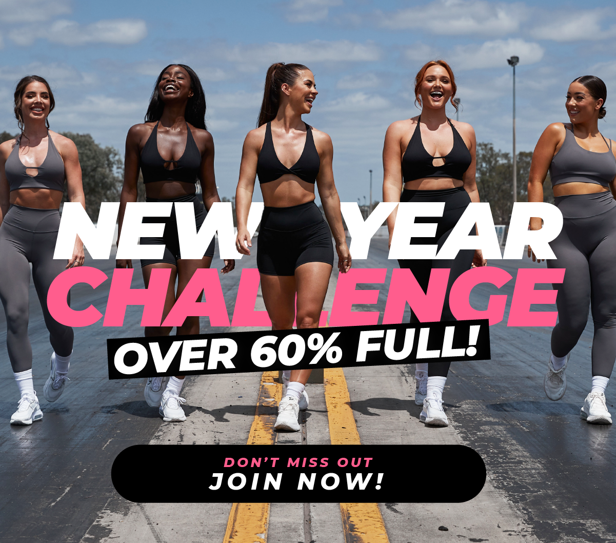 Secure your place to the Challenge now