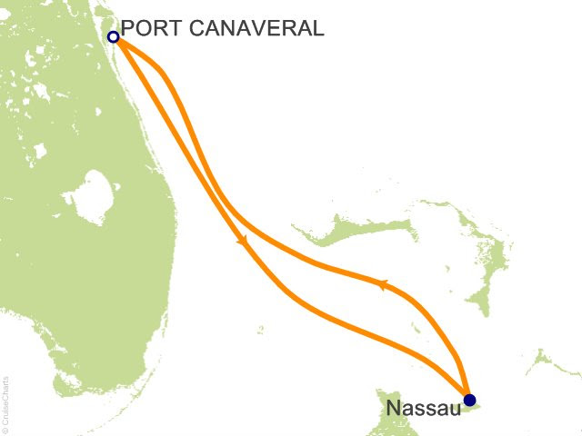 3 Night Bahamas Cruise from Port Canaveral