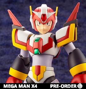 Mega Man X4 Mega Man X (Force Armor Rising Fire Ver.) 1/12 Scale Model Kit