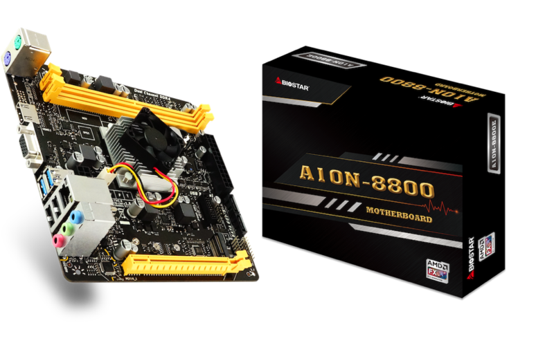 BIOSTAR Launches Gaming-Ready A10N-8800E SoC Motherboard! content Picture1