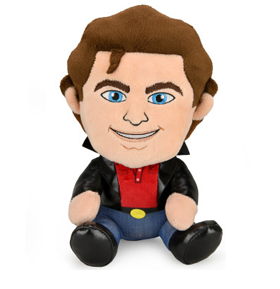 David Hasselhoff Phunny Leather Jacket Plush