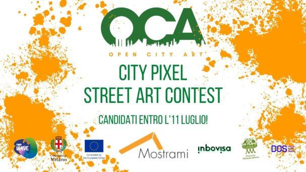 city pixel by oca - locandina