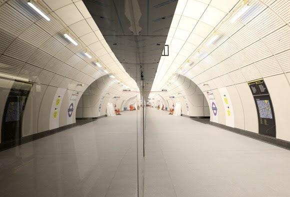 TfL Image - TCR Elizabeth line nearing completion 02