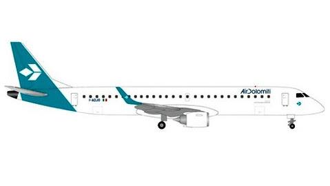 Embraer E195 Air Dolomiti new colours I-ADJO | Is due: Nov/Dec 2019