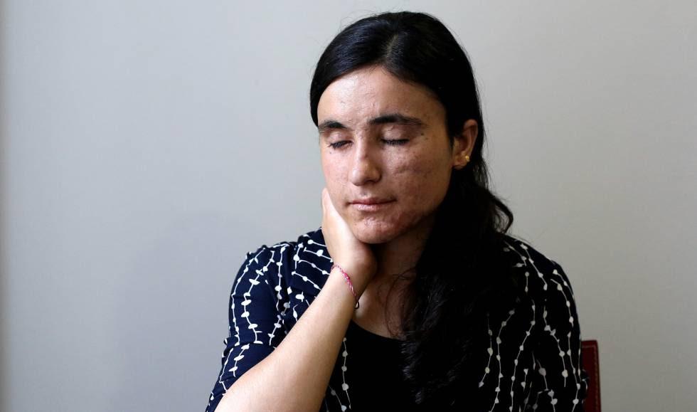 Lamia Aji Bashar in Madrid on Thursday.