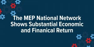 The Mep National Network Shows Substantial Economic And Financial Return