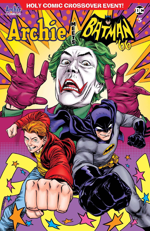 Archie Meets Batman '66 #5: CVR F Smith