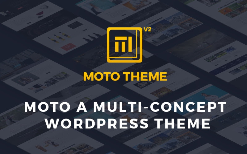 Moto Theme- Ultimate WP Theme
