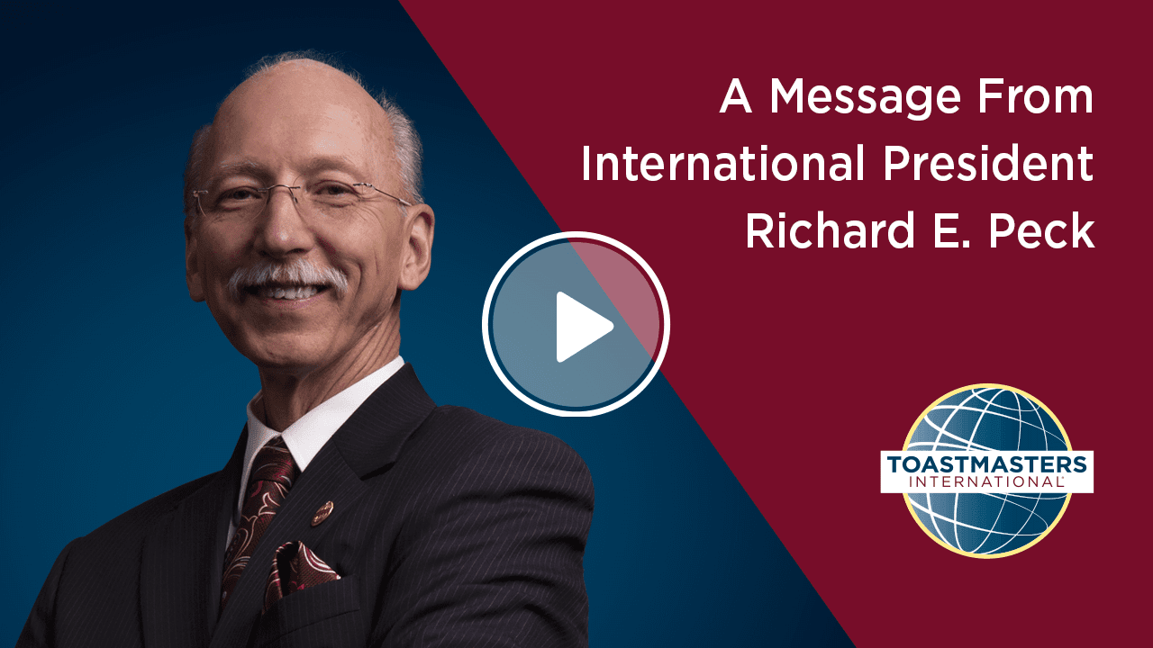 A Message from International President Richard E Peck