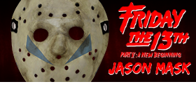 FRIDAY THE 13TH PART V JASON MASK REPLICA