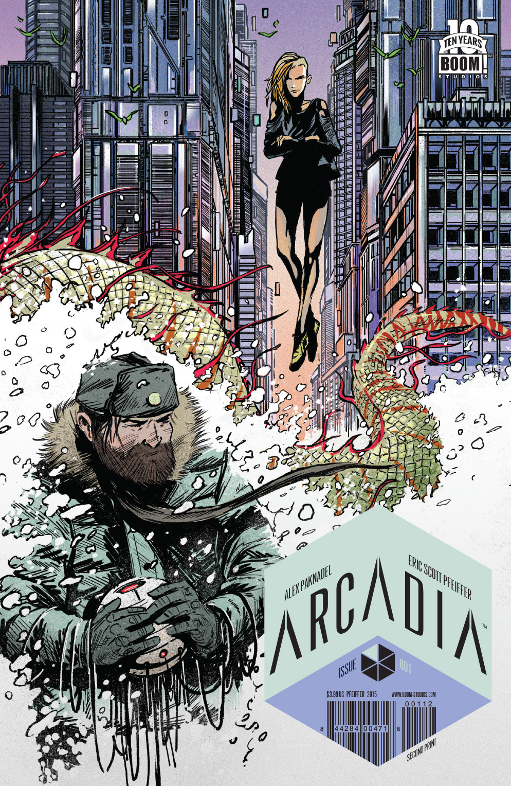 Arcadia #1 2nd Print Cover