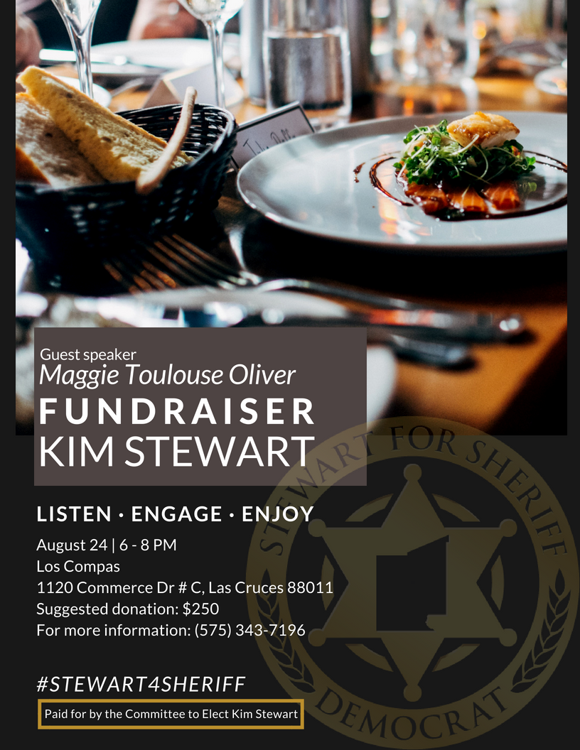 Kim Stewart for Sheriff Fundraiser @ Los Compas | Las Cruces | New Mexico | United States