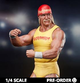 Hulk Hogan Hulkmania 1/4 Scale Limited Edition Statue