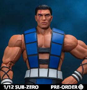 Mortal Kombat 3 VS Series Sub-Zero (Unmasked) 1/12 Scale Figure