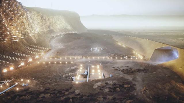 Cidade em Marte? Estúdio de arquitetura dá 'asas à imaginação'