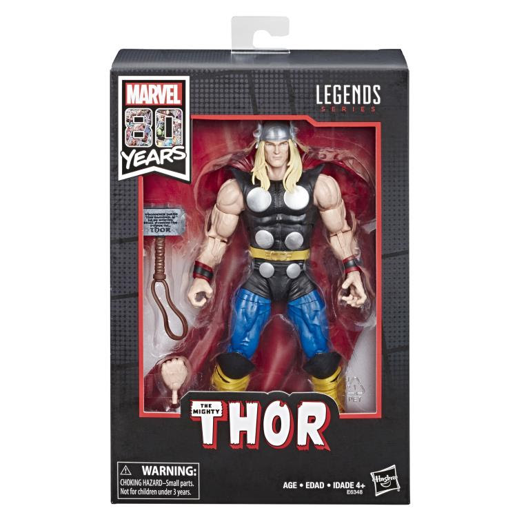 "Image of Marvel Legends 80th Anniversary Thor 6"" Figure"