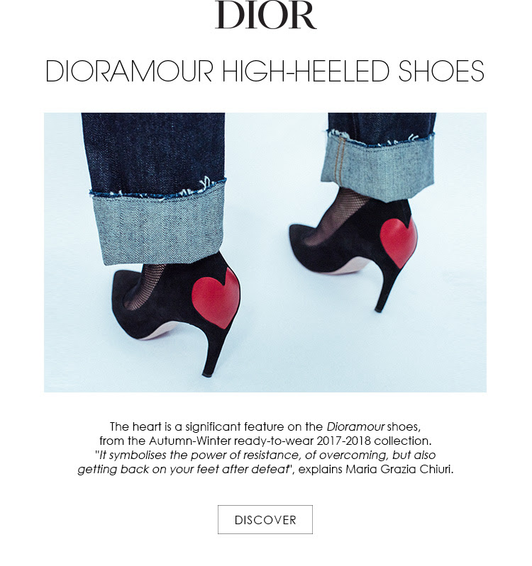DIORAMOUR HIGH-HEELED SHOES